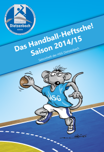 Saisonheft Cover 2014/2015